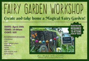 Nelson Nursery Fairy Workshop