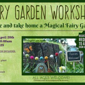 Nelson Nursery Fairy Workshop