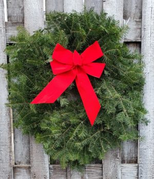 Nelson Nursery Wreath Fundraising